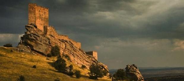 El Castillo de Zafra, en Guadalajara