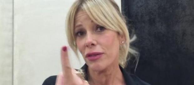 GF 14, Alessia Marcuzzi sfida X-Factor