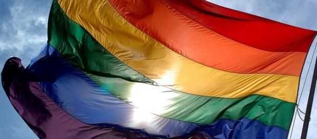 I colori della bandiera della comunità gay