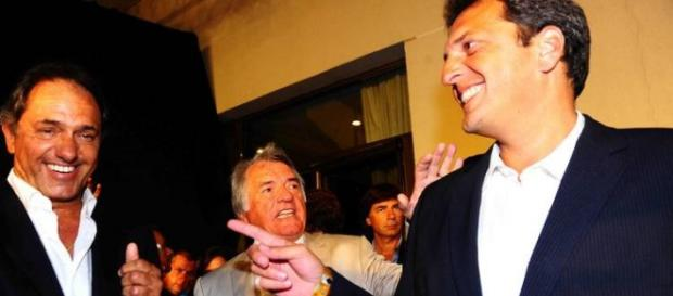Scioli,Barrionuevo y Massa: El peronismo que viene