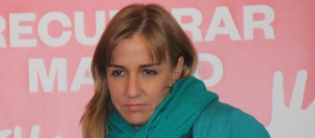 Tania Sánchez, candidata al Congreso de Podemos