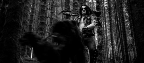 Abbath com vídeo ao vivo Fenrir Hunts