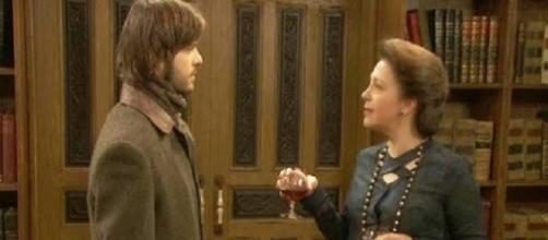 Donna Francisca fa una confessione a Gonzalo