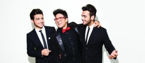I componenti del trio 'Il Volo'