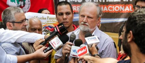 João Pedro Stédile na Venezuela em 2013