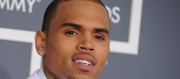 Chris Brown em um envento nos Estados Unidos!