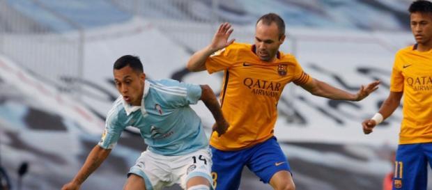 El Celta puso en jaque al Barcelona