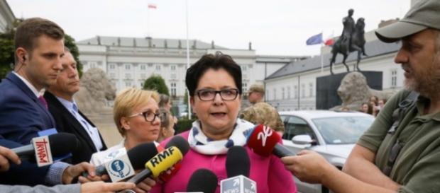 Minister Teresa Piotrowska(Paweł Supernak, PAP)