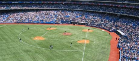 The Rogers Centre in Toronto, Ontario.