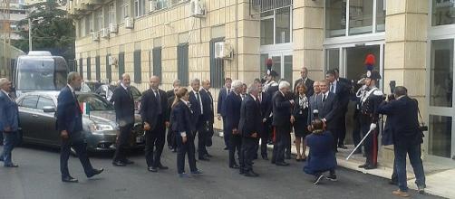 Il Presidente della Repubblica a Caltanissetta