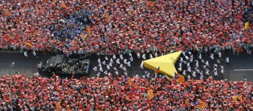 In 2.000.000 per l'indipendenza della Catalogna
