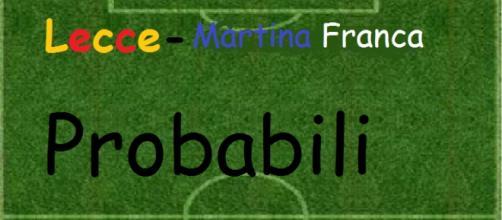 Le probabili formazioni di Martina Franca- Lecce