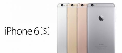 Nuovi colori dell'iPhone 6s incluso il rose gold