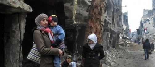 Uma cena fatídica do já conhecido desespero Sírio