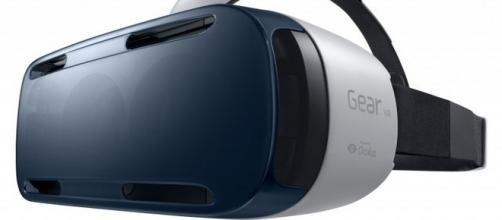 visore samsung per la realtà virtuale