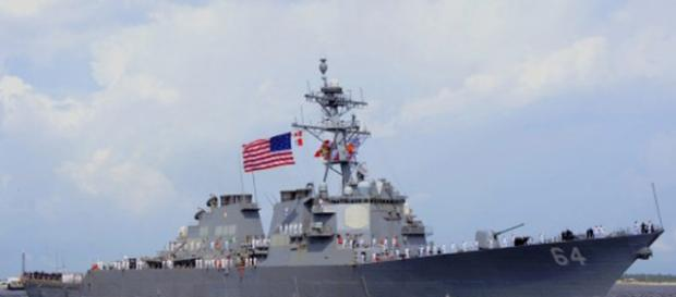 Barco de guerra portador del escudo antimisiles