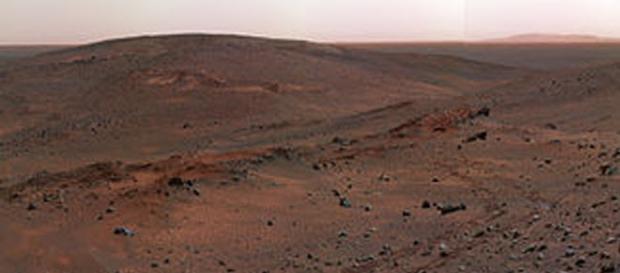 Immagine del suolo del Pianeta Rosso