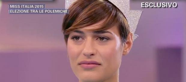 Miss Italia si esprime su Renzi