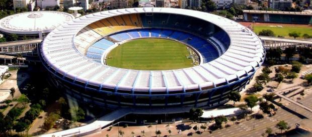 O Maracanã é o palco do Clássico dos Milhões