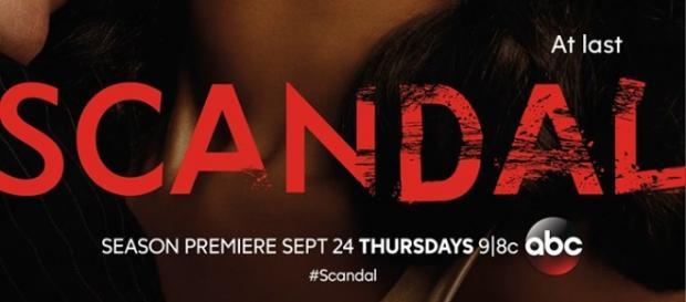 Scandal 5, poster ufficiale della quinta stagione