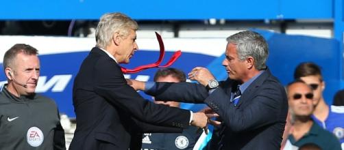 Arsene Wenger and Jose Mourinho.