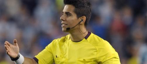 L'arbitro messicano Erim Ramirez