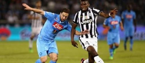 Napoli- Juventus, la sfida sta per iniziare