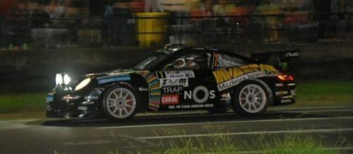 Porsche de Pedro Calado e Alexandre Camacho.