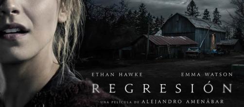 'Regresión' - Cartel promocional Emma Watson