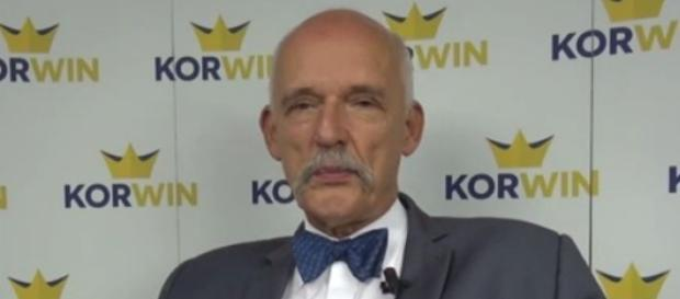 Janusz Korwin-Mikke youtube.com (printscreen)