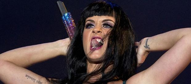 Katy Parry no Rock in Rio em 2011