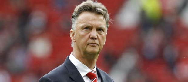 Manchester United's manager - Louis van Gaal.