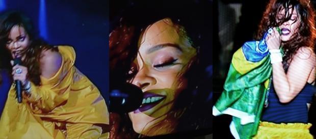 Rihanna deu seu melhor no Rock in Rio