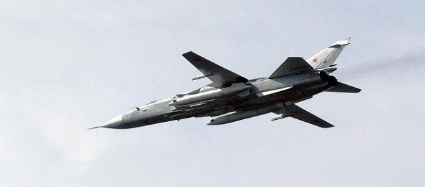 Bombardiere tattico russo Sukhoi Su-24