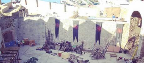 Preparativos de 'Juego de Tronos' en Peñíscola