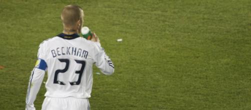 David Beckham con Los Ángeles Galaxy