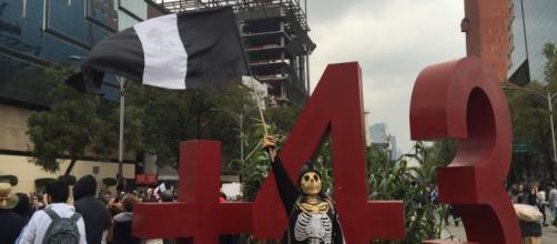 El país sigue de luto por los 43 de Ayotzinapa