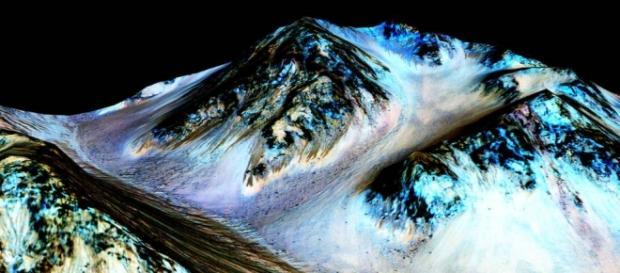Albiile raurilor sarate de pe Marte