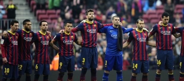 Barcelona está em risco de ficar sem campeonato.