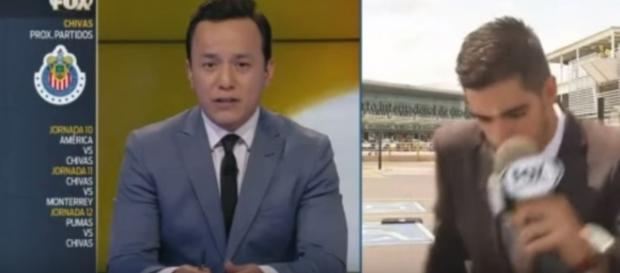 Repórter da Fox é atropelado ao vivo