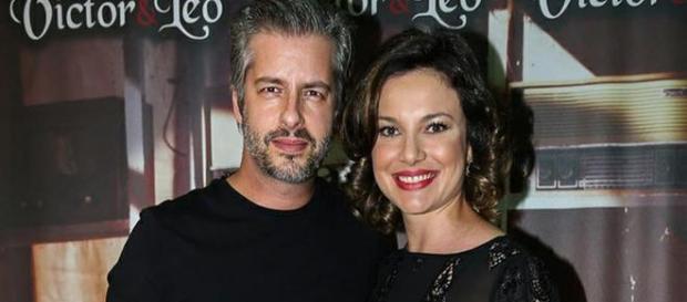 Victor e a namorada Poliana estão grávidos