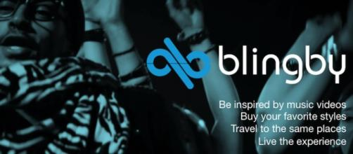 Blingby allows you to watch videos and purchase