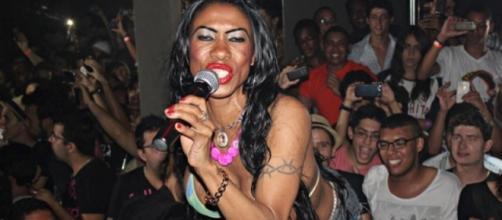 Cantora foi ao Rock in Rio para curtir
