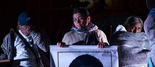 Familiare son recibidos por Peña Nieto