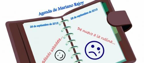 La agenda del Presidente Mariano Rajoy