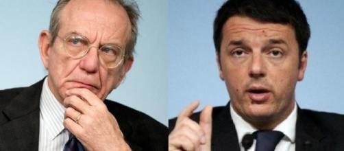 Padoan e Renzi sulle pensioni hanno molto da dire