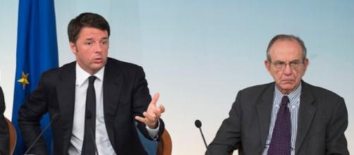 Renzi e Padoan a lavoro sulla legge Sabilità 2016