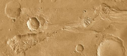 Tracce di passaggi di acqua su Marte