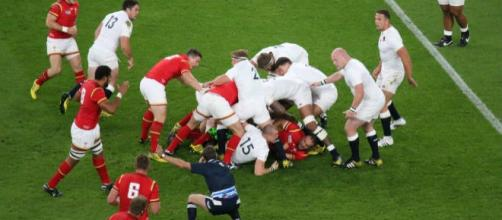 Wales win the decisive penalty © Marc