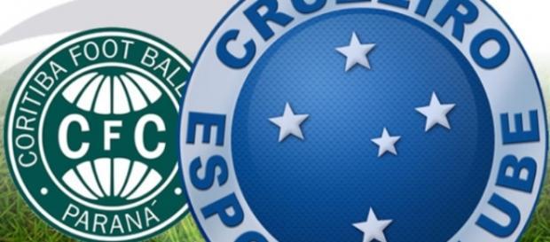 Cruzeiro venceu o Coritiba por 2-0